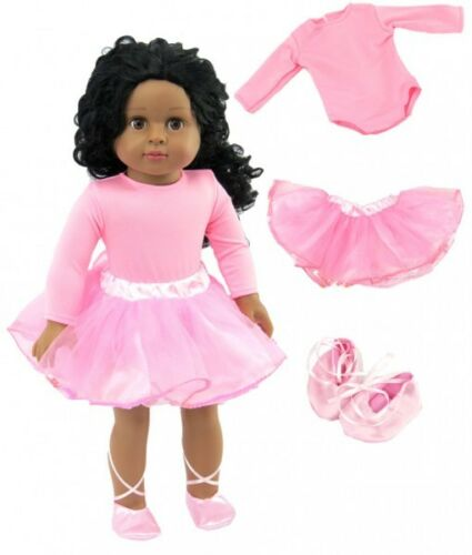 """Doll Clothes 18/"""" Ballerina Gymnastic Slippers Fits American Girl Dolls"""