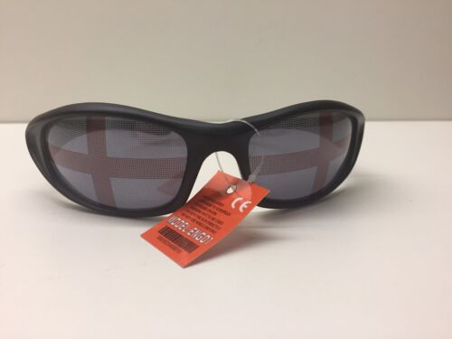 England George Cross Sunglasses With Pouch  Brand New FREE DELIVERY
