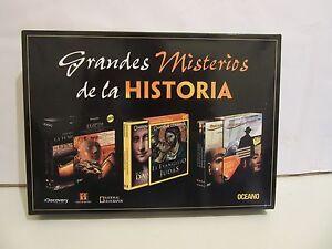 Grandes-Misterios-De-La-Historia-9-x-DVD-2008-OCEANO-NM-NM