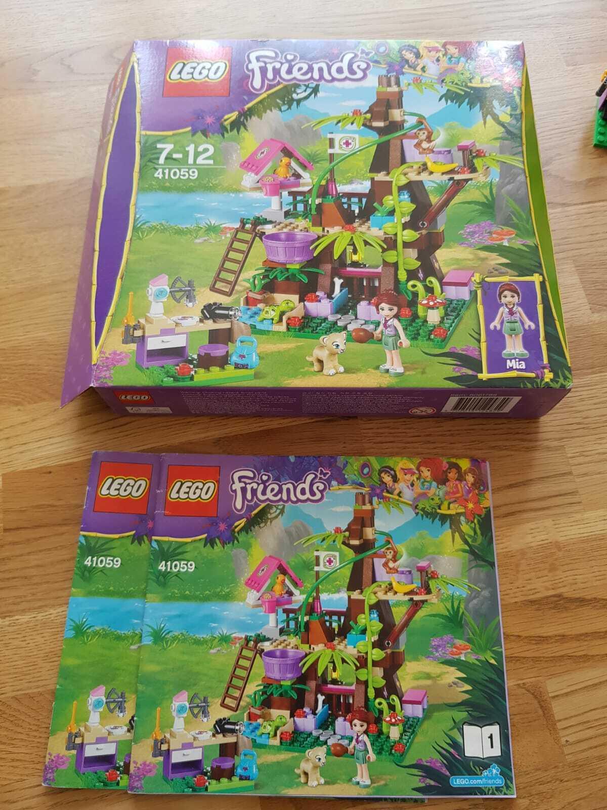 +++  LEGO Friends 41059 - Unterschlupf am Dschungelbaum  +++