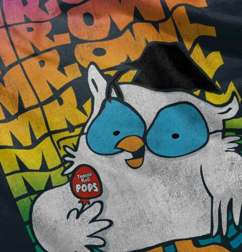 Mr Owl Tootsie Pop Vintage Candy Lollipop Youth Toddler T-Shirt Tees Tshirts