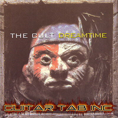 The Cult Guitar /& Bass Tab SONIC TEMPLE Lessons on Disc