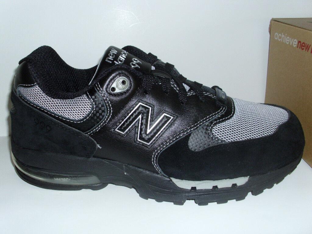NEW BALANCE 999 BLACK/GRAY RUNNING SHOES MENS 8.5