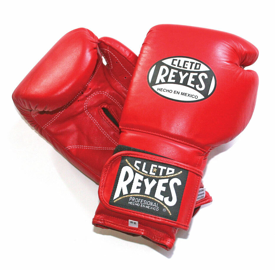 Authentic CLETO REYES IN PELLE ROSSA 16oz Sparring Guanti