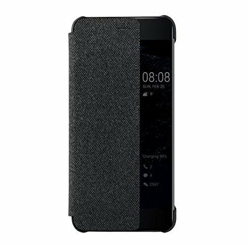 meet 6db90 c9237 Official Huawei P10 Plus Dark Grey Flip View Cover / Case - 51991876
