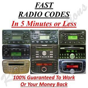 Ford-Radio-Code