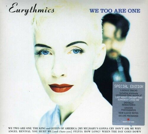 1 of 1 - Eurythmics - We Too Are One [New CD] Bonus Tracks, Manufactured On Demand, Rmst,