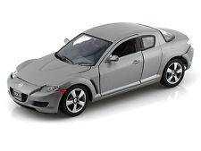 Motor Max 1/24 Scale Mazda RX-8 Grey Diecast Car Model 73323