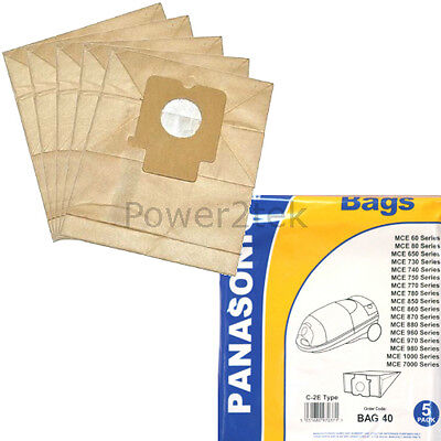 Pack Of 10 Vacuum Dust Bags for Panasonic MCCG465 MCCG467 MCCG475 C2E Type