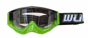 Wulf Wulfsport Adult Quad MX Motorcross Shade Goggle Orange One Size BC34551 T