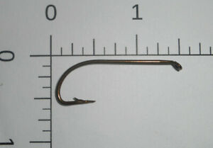 100 Mustad #1 Fly Tying Hooks Limerick Td Tapered Eye Bronzés 2 Extra Fort 3667-afficher Le Titre D'origine