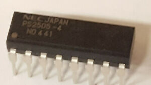 Lot of 180 NEC Part # PS2505-4 Opto AC-IN 4-CH Transistor DC-OUT 5KV Iso 16-Pin