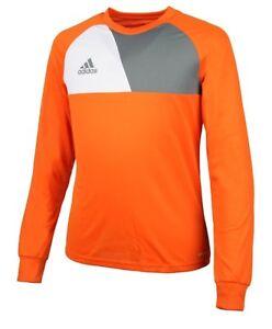 108c0f6731b Image is loading Adidas-Youth-Assita-17-Soccer-Goalkeeper-Orange-GK-