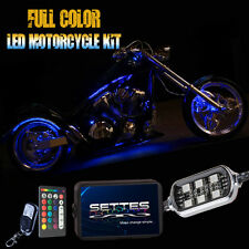 18 Color Changing Led Brute Force 750 ATV UTV Quad 4 Wheeler 10pc Led Light Kit
