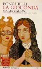 Le Monde de l'opéra n°18-PONCHIELLI-LA GIOCONDA-MARIA CALAS-TURIN-2 CD