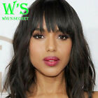 100% Brazilian Virgin Human Hair Wig Lace Front Wig Short Bob Curly Full Wig ht7