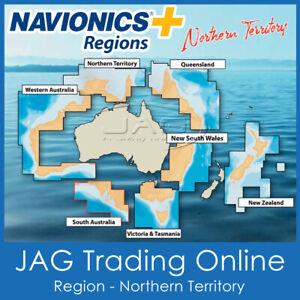 NAVIONICS+ REGIONS NORTHERN TERRITORY AUSTRALIA GPS MAP CHART SD/MicroSD CARD NT