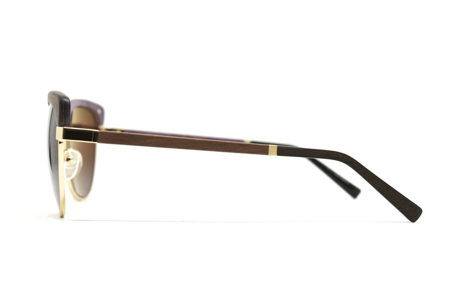 Gold and Wood Sunglasses ALTAIS 03 58-15-130 New Authentic - retail