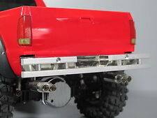 Aluminum Rear Bumper Guard for Tamiya 1/10 Ford F350 Juggernaut Hilux Truck