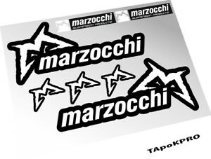 New Stickers Marzocchi Drop Off 4 mountain bike decals fork custom