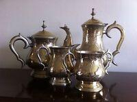 Vintage Silver Plate Tea Service EPNS