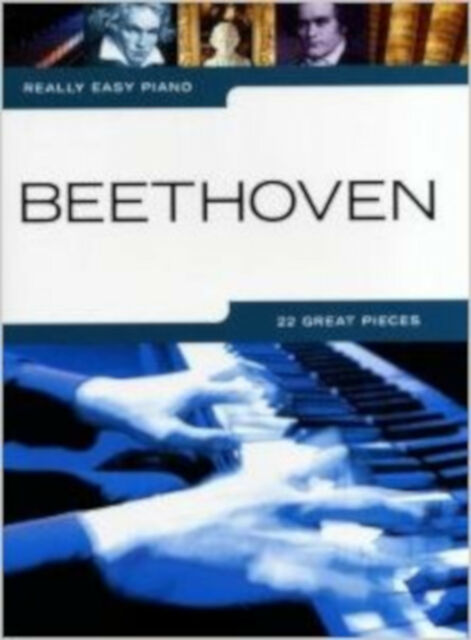 Really Easy Piano: Beethoven, New, Wise Publications Book