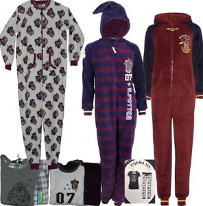 Ladies-HARRY-POTTER-HOGWARTS-MARAUDERS-MAP-Pyjamas-PJ-T-Shirt-Leggings-Primark