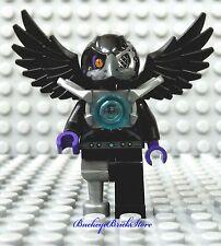 NEW Lego Minifig Chima RIZZO RAVEN Black Bird Yellow Eyes Monster Beak & Peg Leg