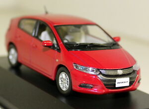 J-COLLECTION-1-43-scale-Honda-Insight-2010-Red-Diecast-Voiture-Modele