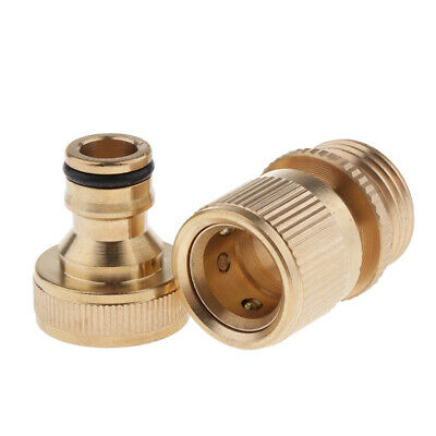 M22 Metric Brass Pressure Washer Adapter Hose Lance Connector Fitting New G5D8