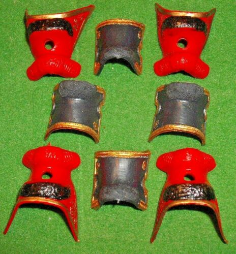 8 pieces x GUARDS saddles in very good condition VINTAGE BRITAINS EYES RIGHT