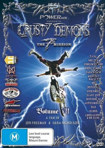 1 of 1 - Crusty Demons - The 7th Mission (DVD, 2010) -  Disc is in MINT Condition