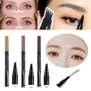 Microblading-Eyebrow-Tattoo-Ink-Pen-Cosmetic-Waterproof-4-Fork-Tip-Brow-Make-Up