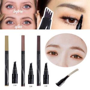 Microblading-Eyebrow-Tattoo-Ink-Pen-Cosmetic-Waterproof-4-Fork-Tip-Brow-Make-Up