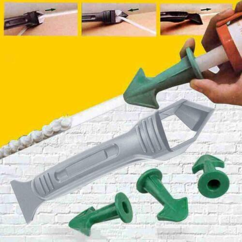 Nozzle Spatulas Filler Spreader Tool 3 in 1 Silicone Caulking Finisher Tool L3H6