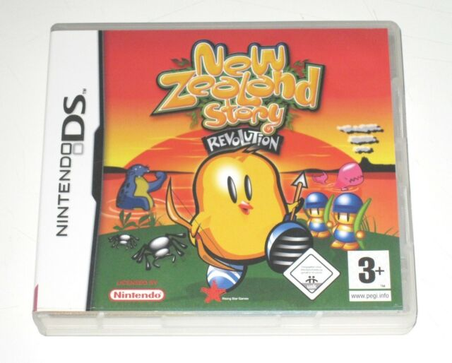 Jeu New Zealand Story revolution sur Nintendo DS