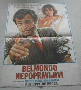 klein-Filmplakat-Plakat-BELMONDO-NEPOPRAVLJIVI-JEAN-PAUL-BELMONDO-5