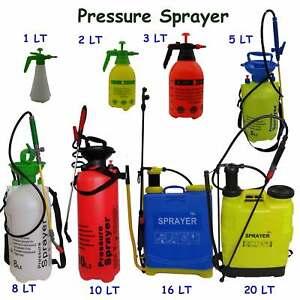 garden sprayer pressure bottle manual weed pump chemical. Black Bedroom Furniture Sets. Home Design Ideas