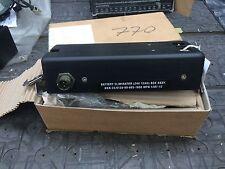 EX MOD Ptarmigan/Bowman Battery Elimination Box 24v 12ah NSN - 6120998651808