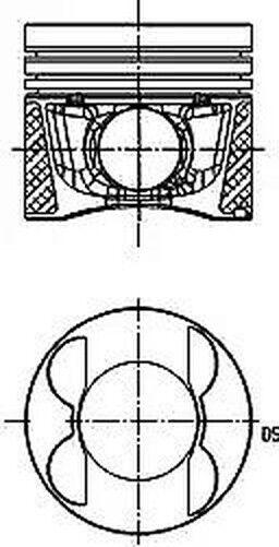 Piston Kolbenschmidt 40096600