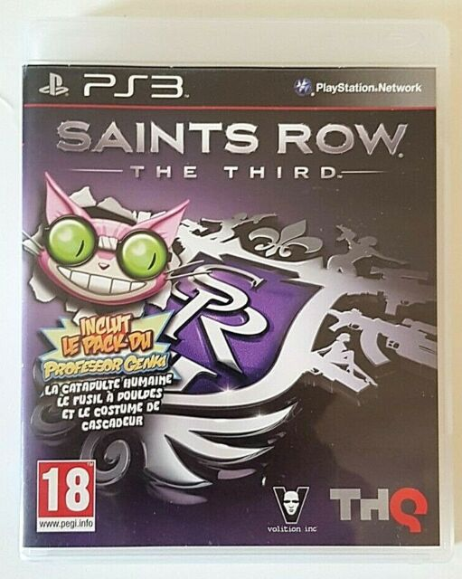 Saint Row The Third - PlayStation 3 PS3 - Complet