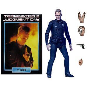 "NECA Terminator 2 T-1000 Ultimate 7/"" Action Figure Judgement Day Authentic New"
