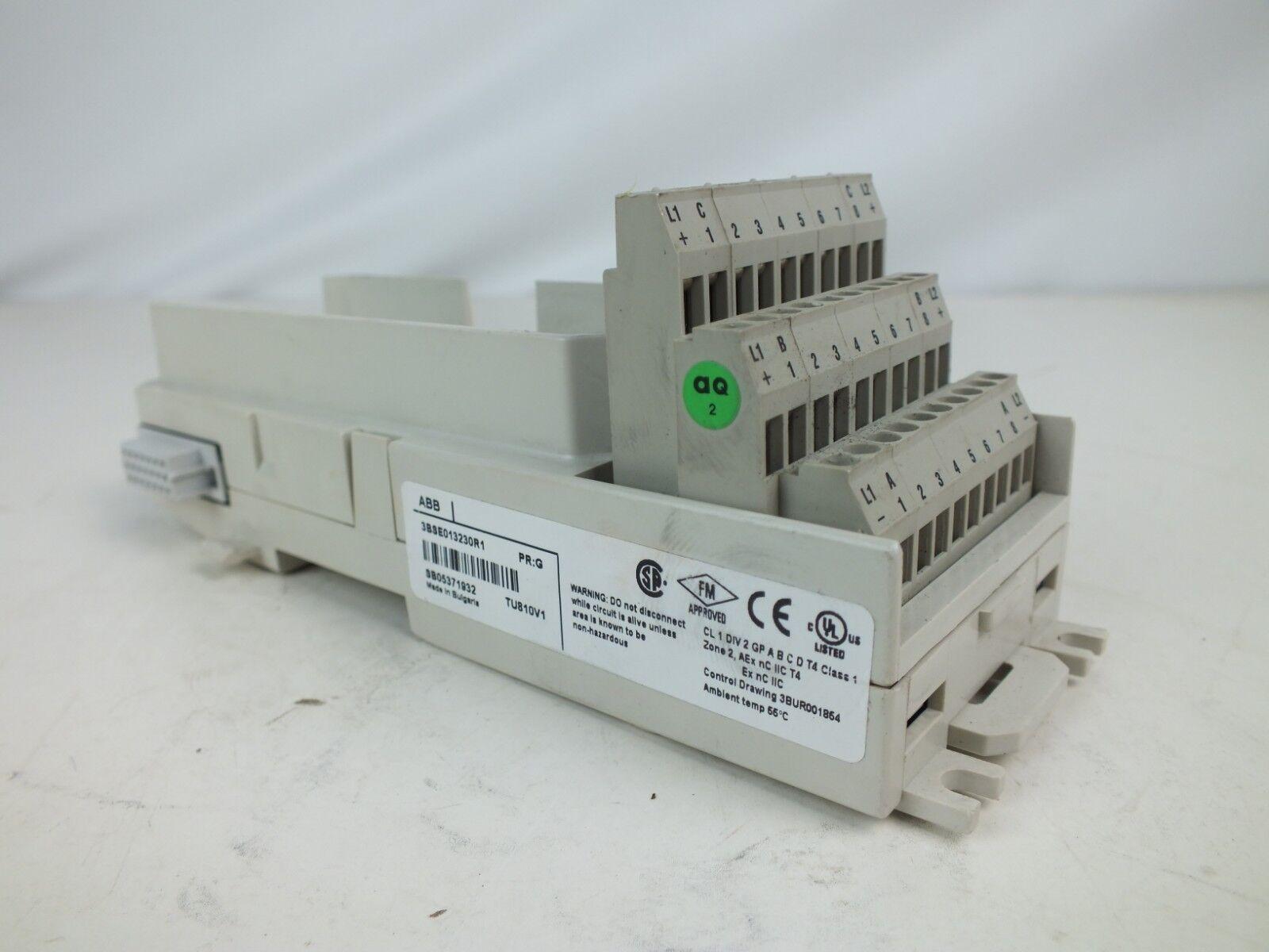 ABB 3BSE013230R1 TU810V1 Compact Module Termination Unit PR G