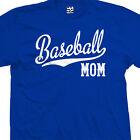 Baseball Mom Script Tail T-Shirt - Team Tee Keep Calm I'm A - All Sizes & Colors