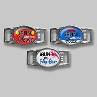 Run Disney Wine Dine 5k 10k Half Marathon Hand Crafted Shoe Lace Shoelace Charm