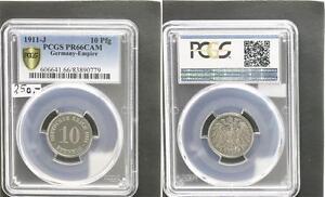 10 Pfennig 1911 J.13 Proof PCGS PR66CAM