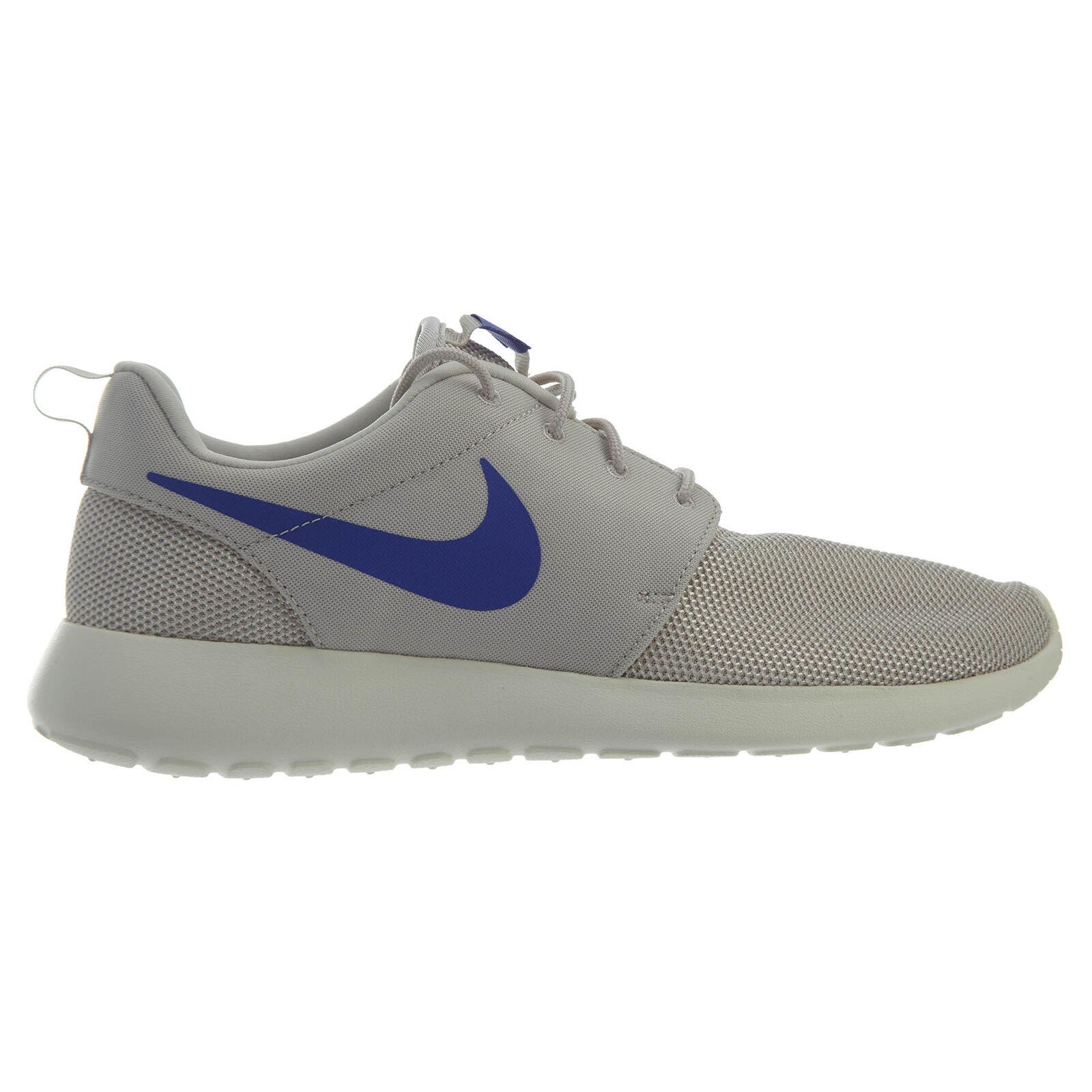 Nike Roshe One Mens 511881-043 Desert Sand Persian purple Running shoes Size 8