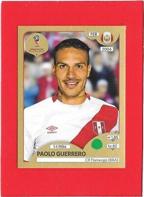 Paolo Guerrero Peru Sticker 248 Panini WM 2018 World Cup Russia