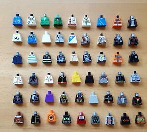Lego Oberkörper Torso mit Armen  973 viele Farben große Auswahl gebraucht B 8