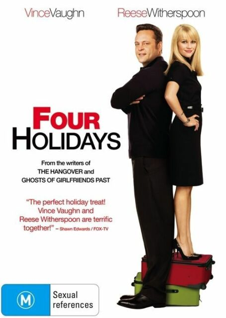 Four Holidays (DVD, 2009)*R4*Vince Vaughan**Terrific condition